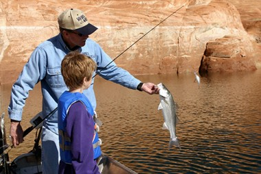 rent a houseboat and take a fishing adventure